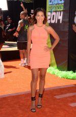 LIZ HERNANDEZ 2014 Kid's Choice Sports Awards in Los Angeles