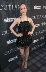 LOTTE VERBEEK at Outlender Panel at Comic-con in San Diego