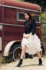 LUCY HALE in Flare Magazine, July 2014 Issue