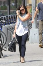 LUCY HALE Out and About in New York 0207