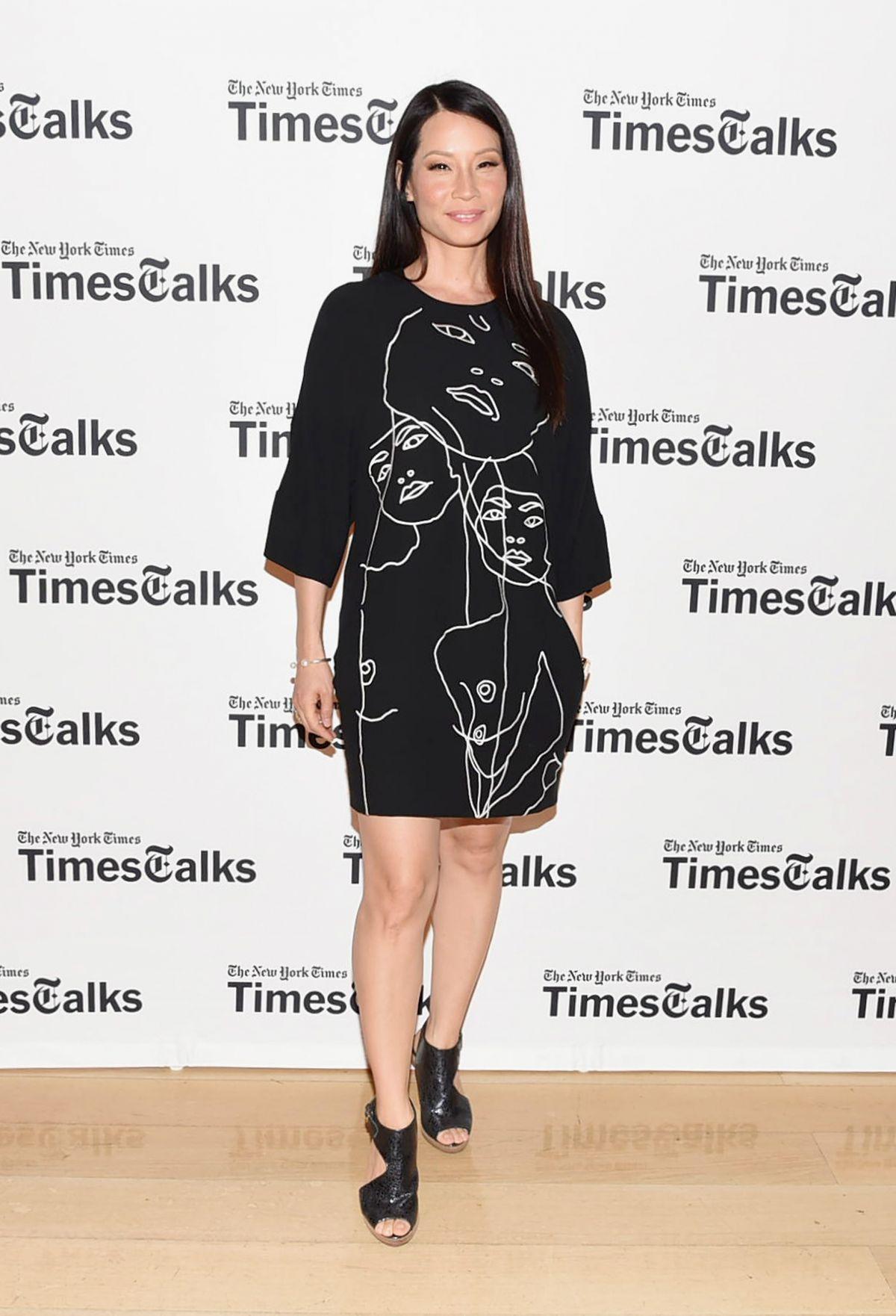 LUCY LIU at Timestalks 2014