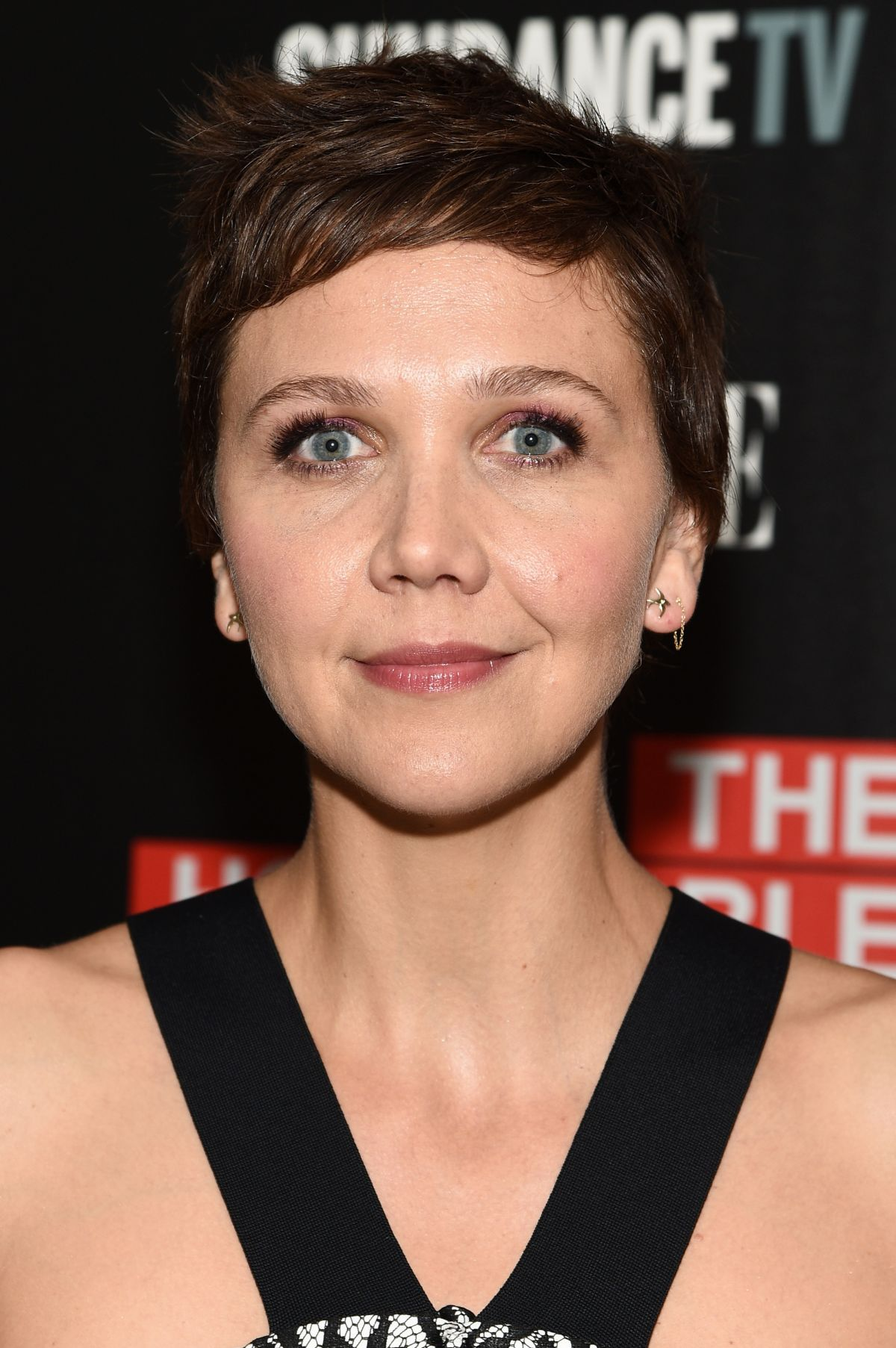 MAGGIE GYLLENHAAL at The Honourable Women Screening in New York