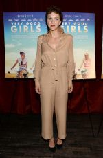 MAGGIE GYLLENHAAL at Very Good Girls Screening in New York