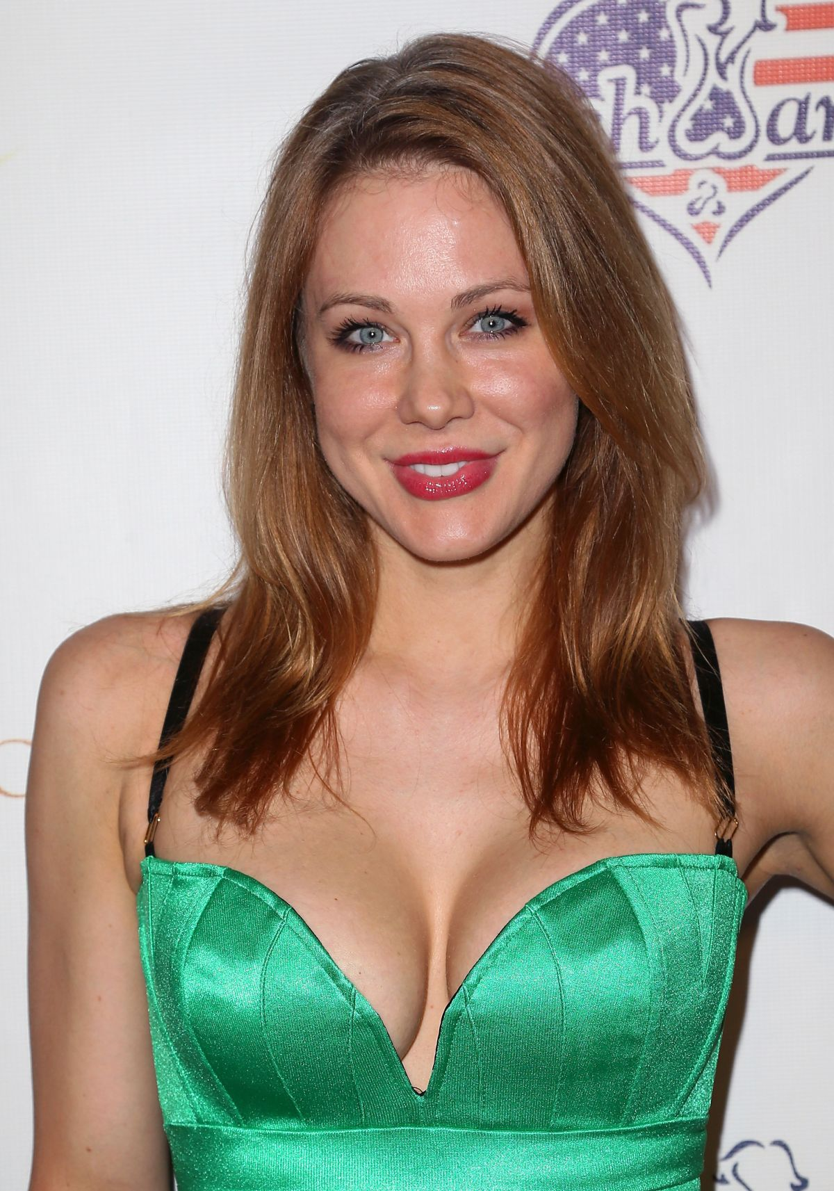 MAITLAND WARD at 2014 Stars and Stripes Event in Los Angeles
