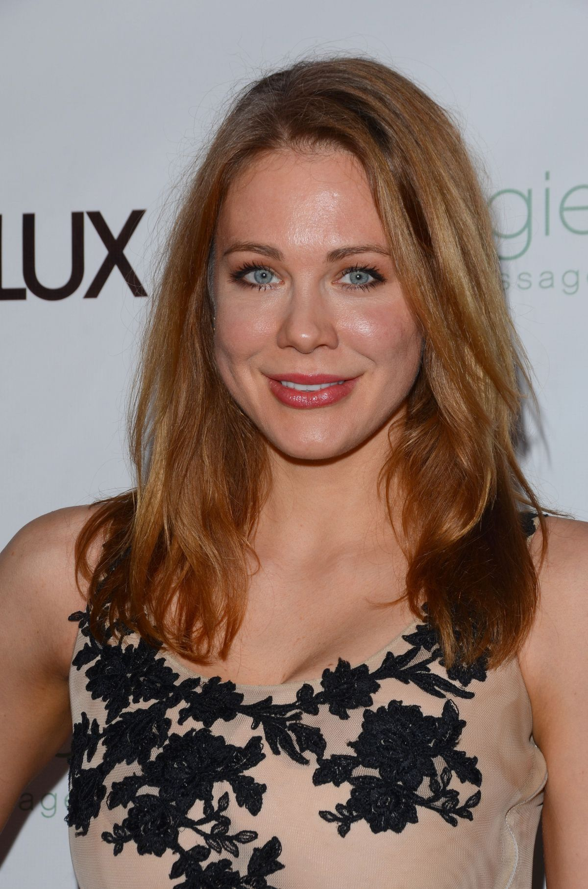 MAITLAND WARD at Genlux Magazine Release Party in Beverly Hills