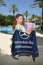 MARIA MAENOUNOS at Mercedes-Benz Fashion Week Swim 2015 in Miami Beach
