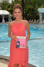 MARIA MENOUNOS at Swim 2015 Fashion Shoe in Miami
