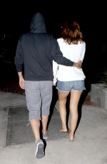 MARIA MENOUNOS in Shorts Out and About in Malibu