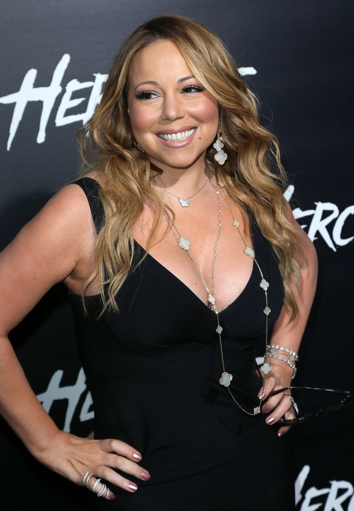 MARIAH CAREY at Hercules Premiere in Los Angeles