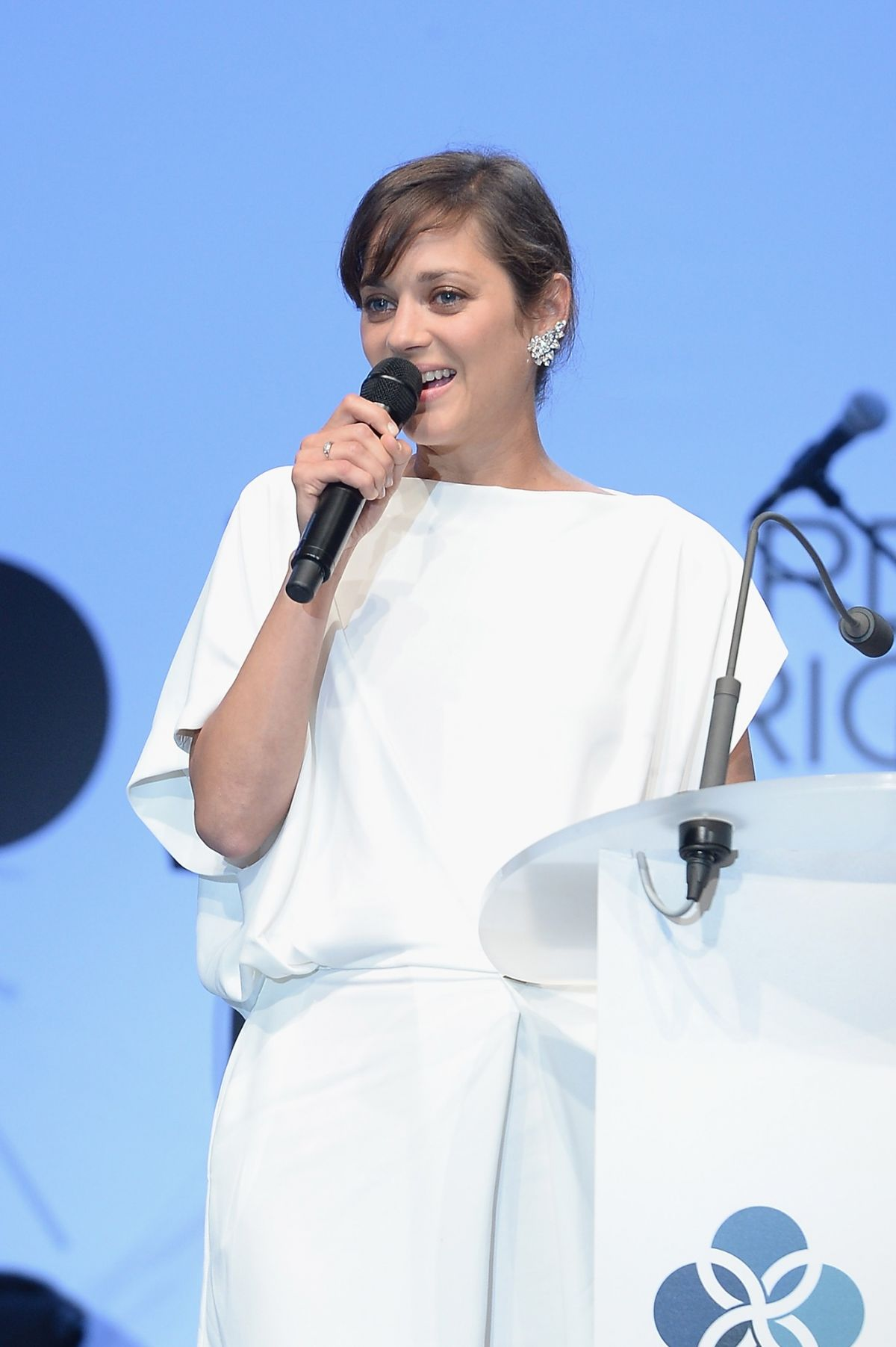MARION COTILLARD at Leonardo Dicaprio Foundation Inaugurational Gala