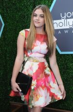 MCKALEY MILLER at Young Hollywood Awards 2014 in Los Angeles