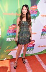 MEGAN FOX 2014 Kid's Choice Sports Awards in Los Angeles