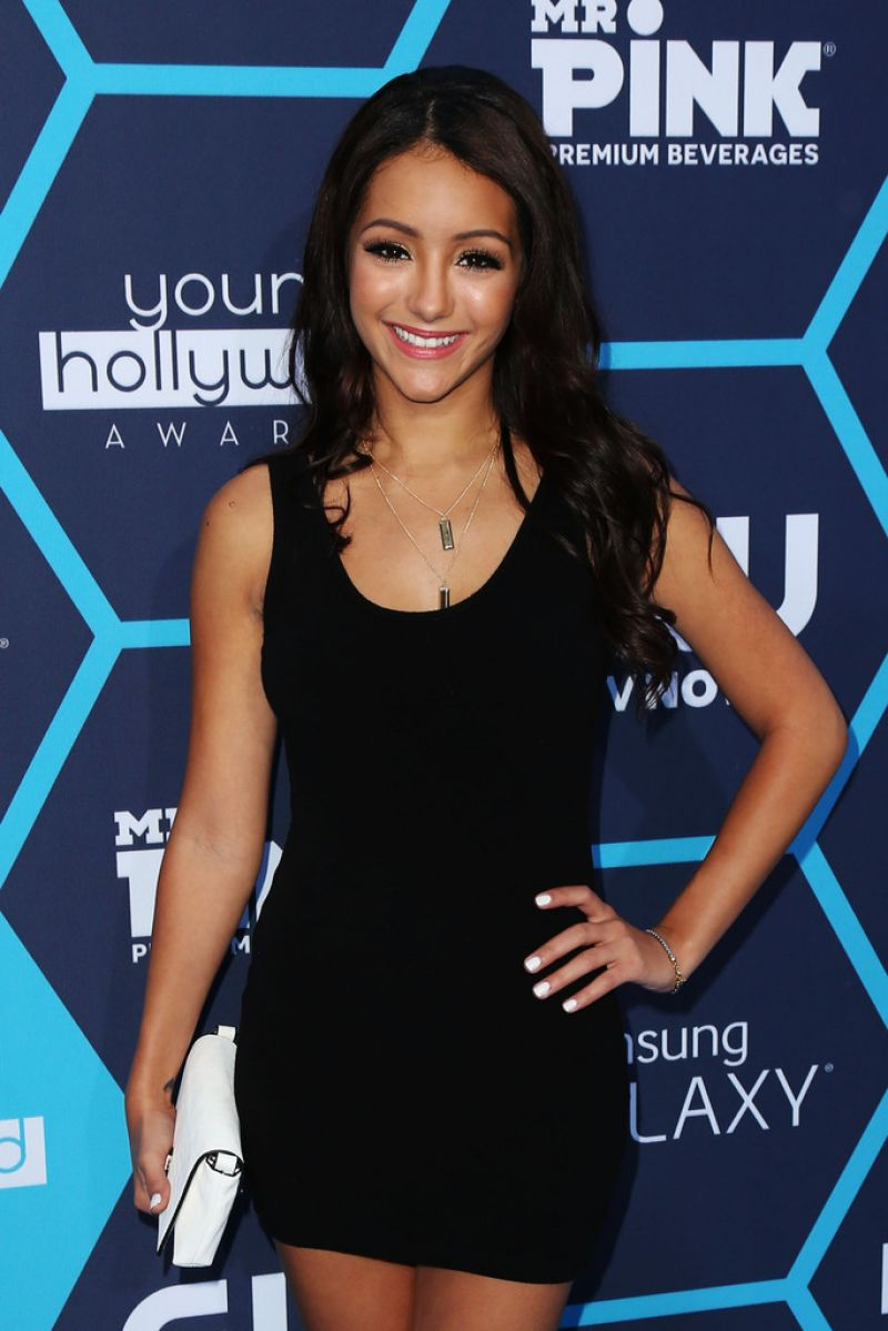 MELANIE IGLESIAS at Young Hollywood Awards 2014 in Los Angeles