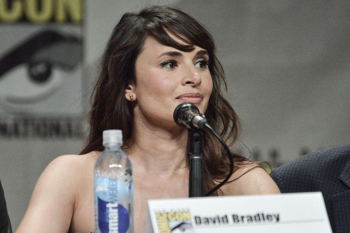 MIA MAESTRO at The Strain Panel at Comic-con 2014 in San Diego
