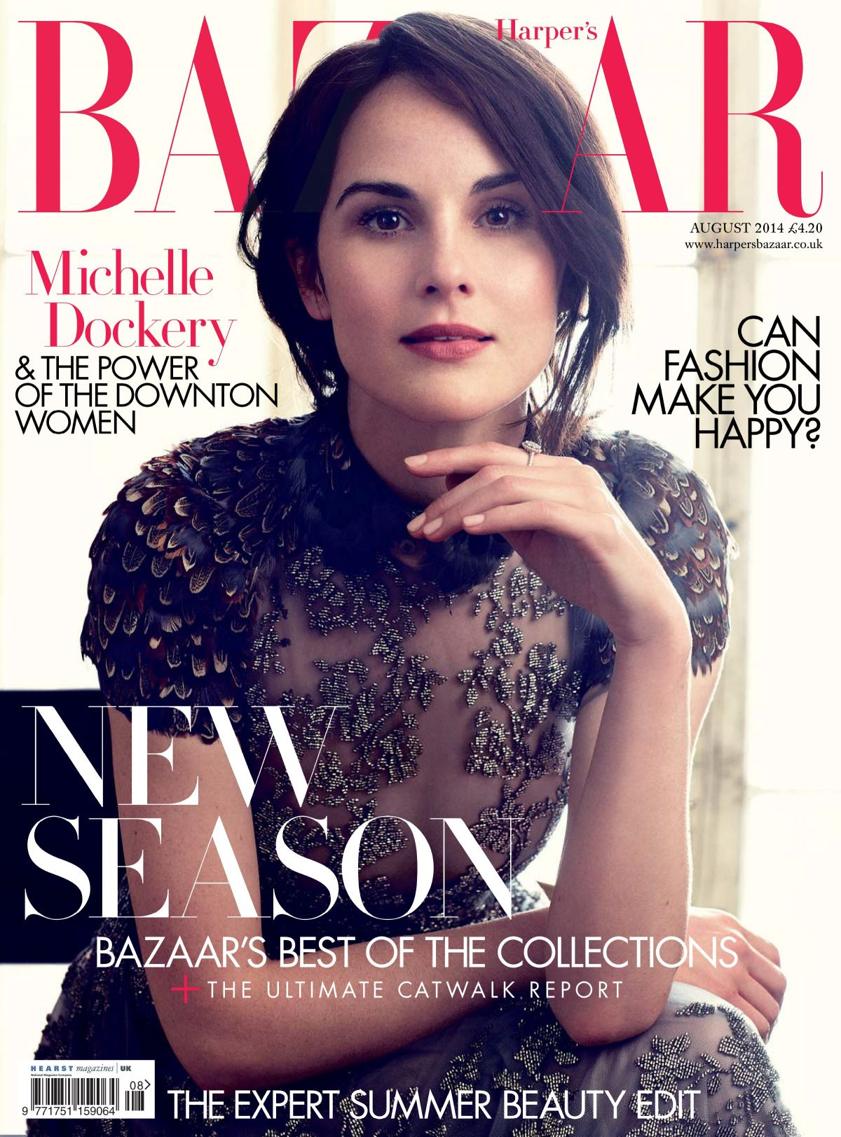 MICHELLE DOCKERY on the Cover of Harper