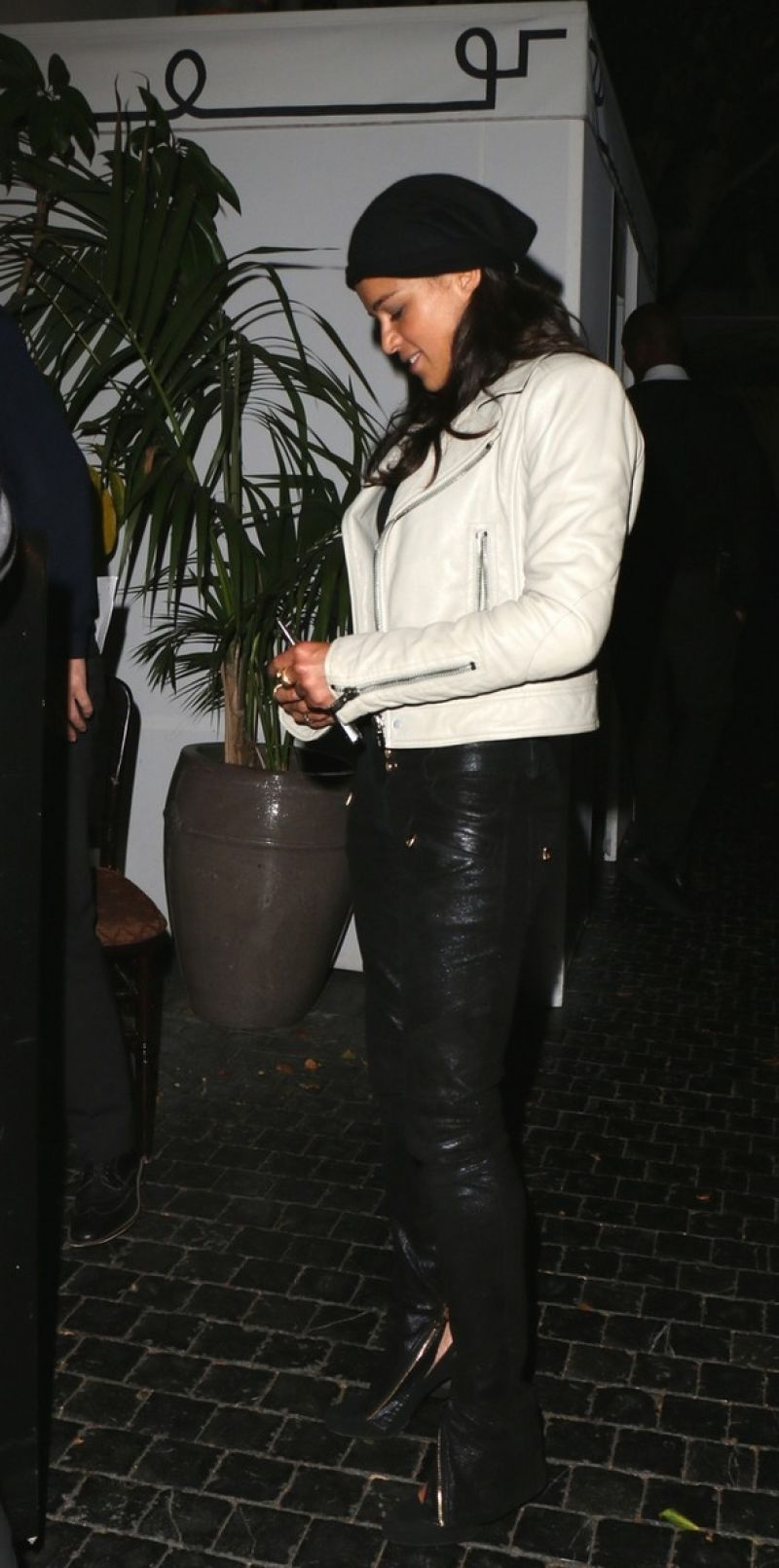 MICHELLE RODRIGUEZ at Chateau Marmont in Los Angeles