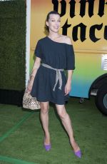 MILLA JOVOVICH at 2014 Just Jared Summer Fiesta in West Hollywood