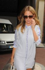 MILLIE MACKINTOSH Leaves Her Hotel in London