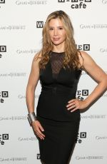 MIRA SORVINO at Wired Cafe at Comic-con 2014 in San Diego