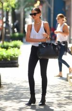 MIRANDA KERR Out and About in New York
