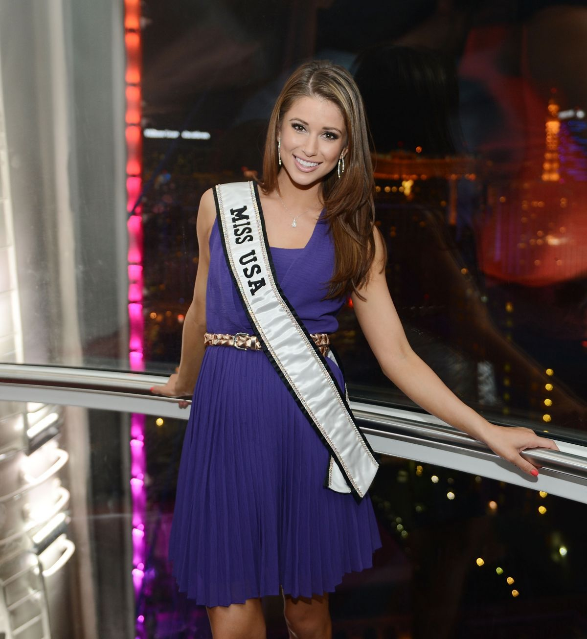 Miss USA NIA SANCHEZ at High Roller at Linq in Las Vegas