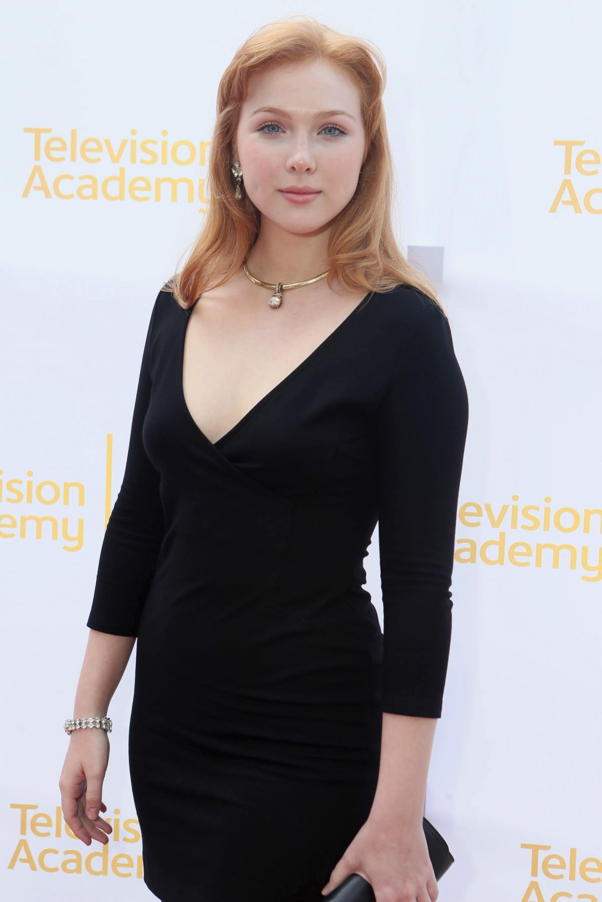 MOLLY QUINN at Emmy Awards Costume Design and Supervision Nominee Reception