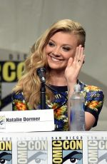 NATALIE DORMER at Fame of Thrones Panel at Comic-con 2104 in San Diego