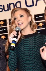 NATALIE DORMER at The Mockingjay Trailer Premiere at Comic-con in San Diego