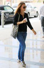 NATALIE PORTMAN Arrives at Creative Artists Agency in Los Angeles