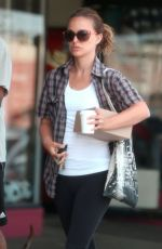 NATALIE PORTMAN Out and About in Los Feliz