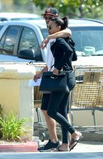 NAYA RIVERA and Ryan Dorsey Out and About in Los Angeles