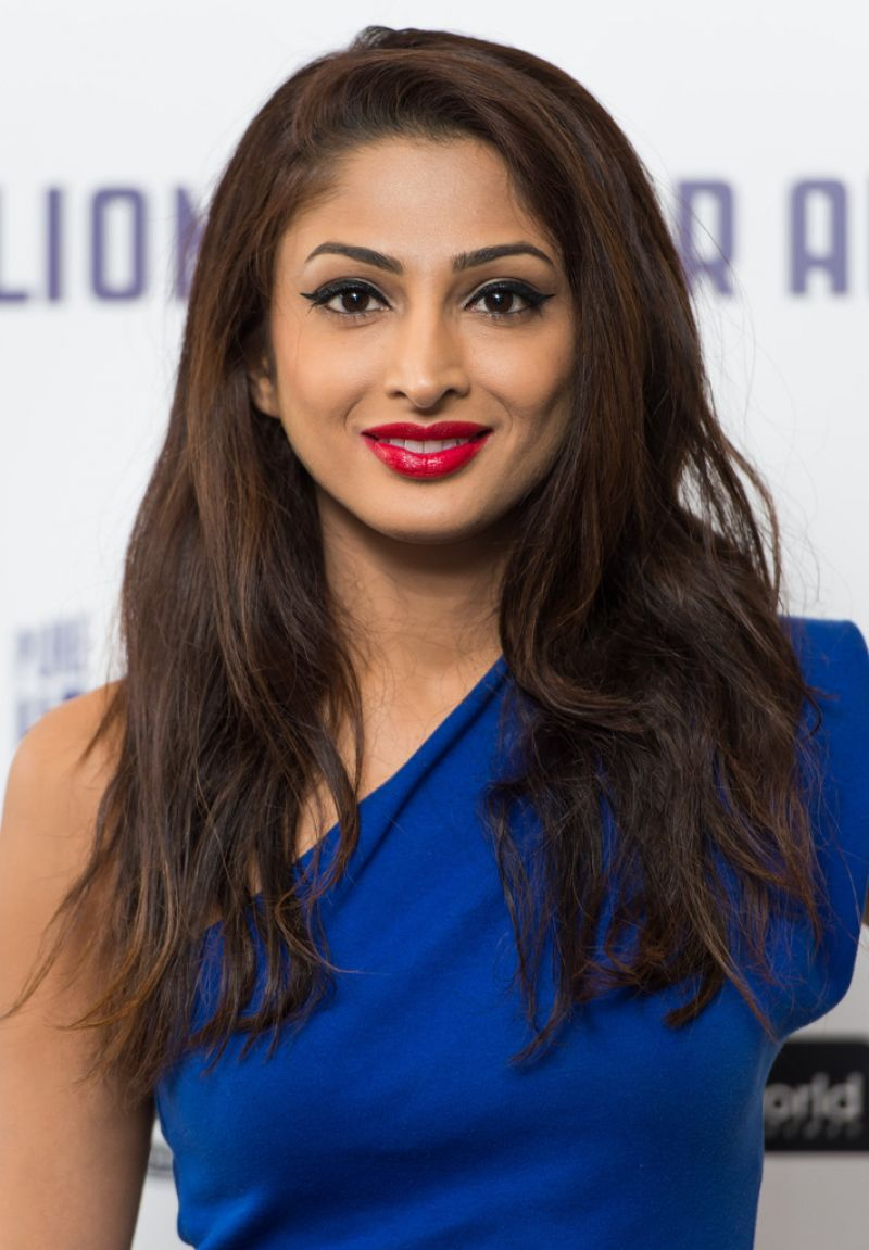NEERJA NAIK at Million Dollar Arm Premiere in London