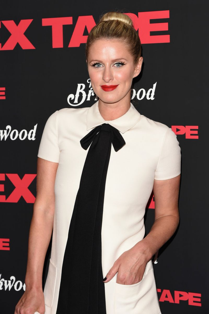 NICKY HILTON at S.x Tape Premiere in New York