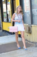 NICKY HILTON Out and About in New York 2407