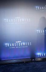 NICOLA PELTZ at Transformers: Age of Extinction Premiere in Rio De Janeiro