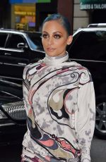 NICOLE RICHIE Arriving at Her hHotel in New York