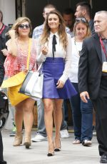 NINA DOBREV Arrives at Comic-con 2014 in San Diego