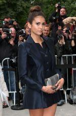 NINA DOBREV at Chanel Fashion Show in Paris