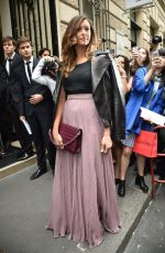 NINA DOBREV at Elie Saab Fashion Show in Paris