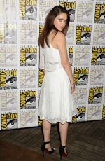 ODEYA RUSH at The Giver presentation at Comic-con 2014 in San Diego