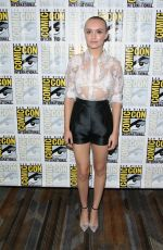 OLIVIA COOKE at Bates Motel Presentation at Comic-con 2014 in San Diego
