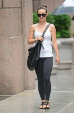 OLIVIA WILDE Out and About in New York 1607