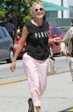 oSHARON STONE Out and About in Los Angeles 3006