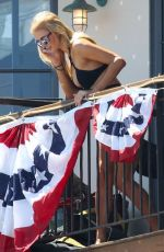 PARIS HILTON at 4th of July Party in Malibu