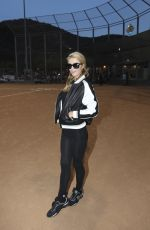 PARIS HILTON at Chris Brown and Quincy Kick'n it for Charity