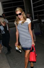 PARIS HILTON at LAX Airport in Los Angeles 1807