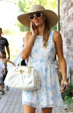 PARIS HILTON Out and About in Malibu