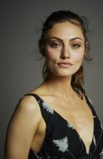 PHOEBE TONKIN at The Originals Portraits at Comic-con 2014 in San Diego