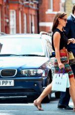 PIPPA MIDDLETON Arrives at Kiki Boutique in London