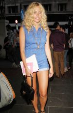 PIXIE LOTT Leaves Paramount Club in London
